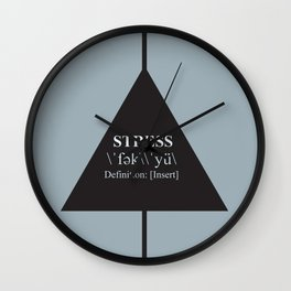 F*Stress Wall Clock