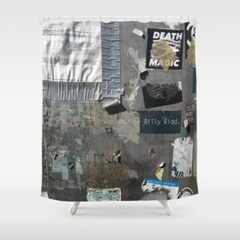 """""""SHOT BY BILLY KIDD"""" BY ROBERT DALLAS Shower Curtain"""