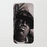 biggie iPhone & iPod Cases featuring BIGGIE by ChrisGreavesCreative