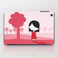 polkadot iPad Cases featuring Polkadot Dress by ankepankedesign