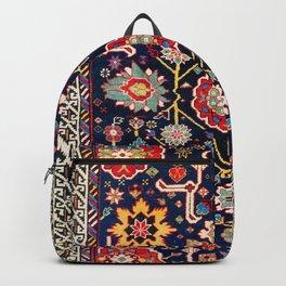 Shirvan Caucasian Afshan Antique Rug Print Backpack