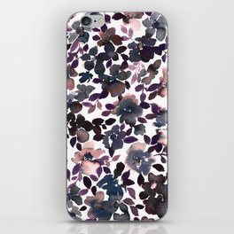Sophia Floral Dusty Pink iPhone Skin