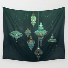 Lamps Wall Tapestry