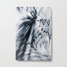 Swerve (Blue) Metal Print