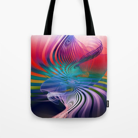 Gently Twisted Tote Bag
