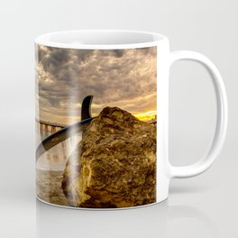 Waiting for waves Coffee Mug
