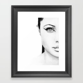 Angelina Jolie  Framed Art Print