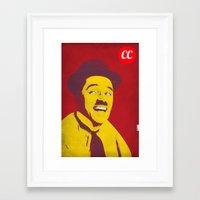 charlie chaplin Framed Art Prints featuring Charlie Chaplin by jnk2007