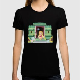 Even The Birds Bring Her Pretty Flowers T-shirt
