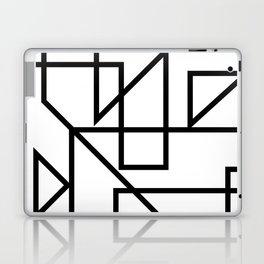 Black & White Minimal Design Laptop & iPad Skin