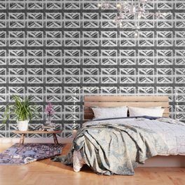 Grey UK Flag Wallpaper