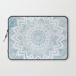 LIGHT BLUE MANDALA SAVANAH Laptop Sleeve