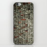 letters iPhone & iPod Skins featuring Letters by Sébastien BOUVIER