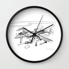 A10 - Freehand Ballpoint Cutaway Wall Clock