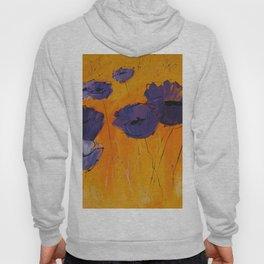 Purple Poppies Hoody