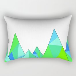Modern Art Rectangular Pillow