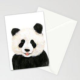 naughty little panda Stationery Cards