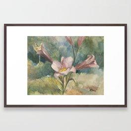 Majestic Mauve Framed Art Print