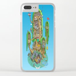 Home on a Tree Clear iPhone Case