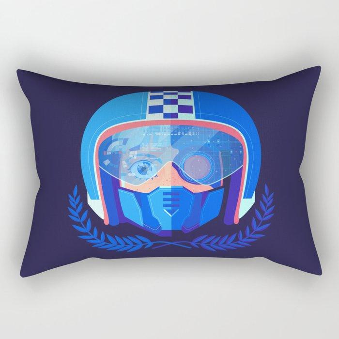 Lightspeed Racer Rectangular Pillow