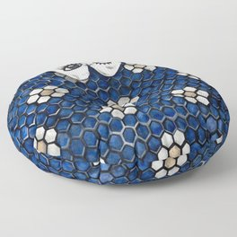 Art Beneath Our Feet Project - Grand Rapids Floor Pillow