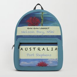 Art Travel Poster Gan Gan Backpack