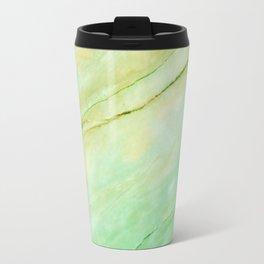 Light green marble Travel Mug
