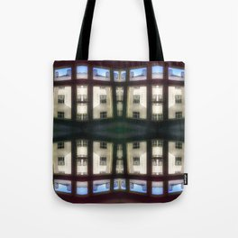 Apartment blues Tote Bag