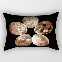 Circle Easter Rectangular Pillow