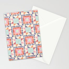 stargazing daisies Stationery Cards