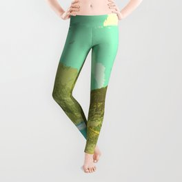 VINTAGE ROAD TRIP Leggings