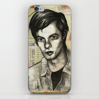 calvin hobbes iPhone & iPod Skins featuring Calvin Love by CHAR ODEN
