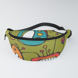 Scribbles 02 in Color Fanny Pack