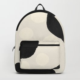 Ink Blots - black Backpack