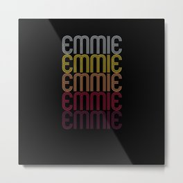 Emmie Name Gift Personalized First Name Metal Print