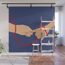 please hold my hand Wall Mural