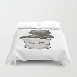 Bucket of Disappoint Duvet Cover