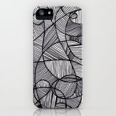Black & White Abstract iPhone (5, 5s) Slim Case