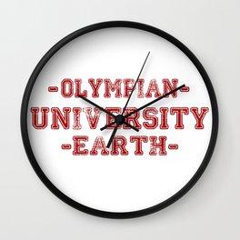 O.U.E Wall Clock
