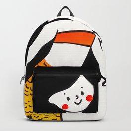 Happy Little Dancing Mermaid Backpack
