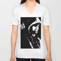 green arrow V-neck T-shirts featuring Arrow by Seth House
