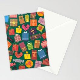 Fun Gift Box pattern Stationery Cards