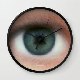 Eye of humanity Wall Clock