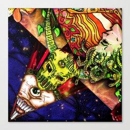 Intergalactic Guardian Constantin Canvas Print