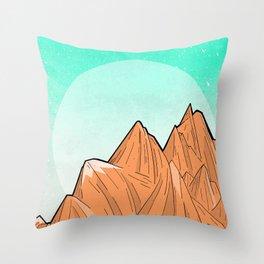 Sand Mountain Throw Pillow