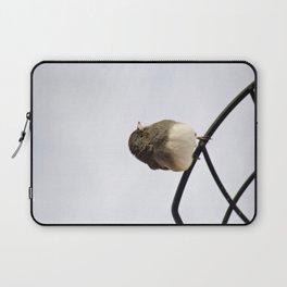 Pretty Winter Junco Laptop Sleeve