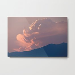 A face in the clouds? Metal Print