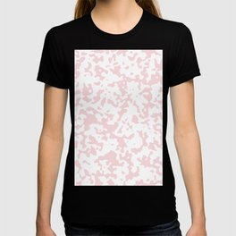 Spots - White and Light Pink T-shirt