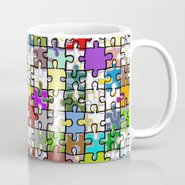 Jigsaw junkie Coffee Mug