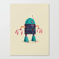 :::Mini Robot-Arpax::: Canvas Print